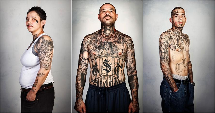 Identik dengan brutal, ini foto 9 mantan mafia jika tatonya dihapus