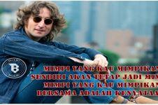 15 Quote John Lennon bukti ia tak sekadar musisi, inspiratif banget