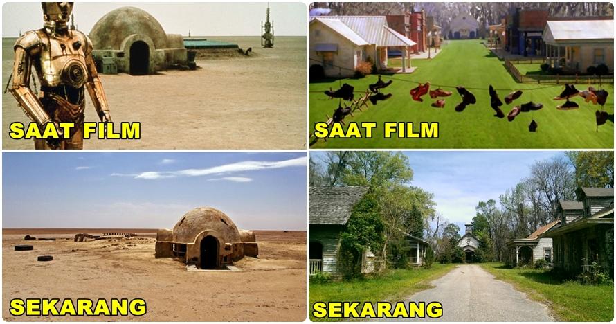 Lama ditinggalkan, 12 lokasi syuting film ini kini jadi menakutkan