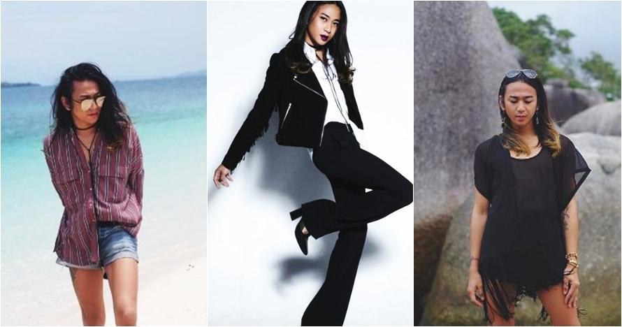 10 Foto Jovi Adhiguna, cowok 'cantik' yang jadi fashion stylist artis