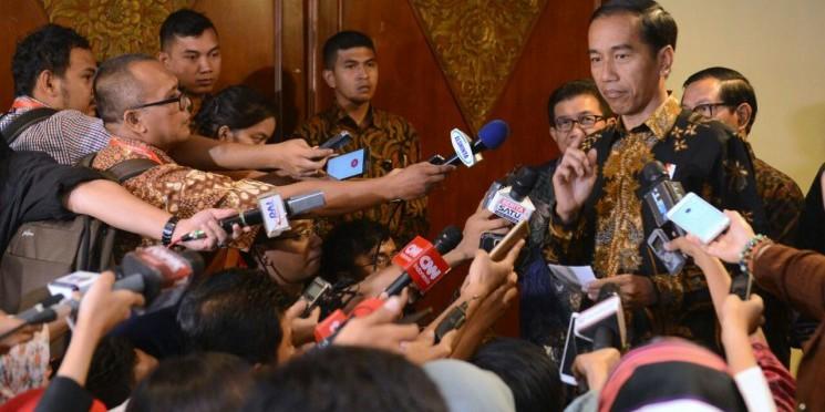 7 Poin pernyataan sikap Presiden Jokowi di demo 4 November