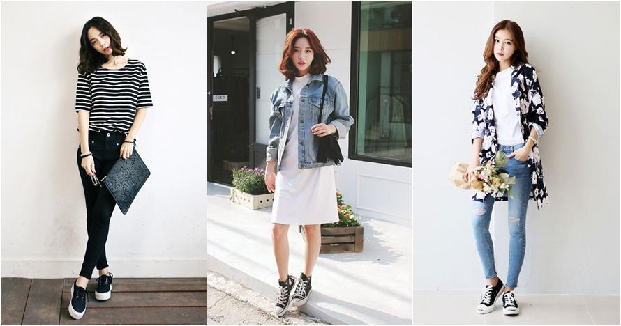 10 Gaya fashion casual ala Korea ini bikin penampilanmu makin stylish