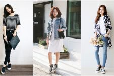 10 Gaya fashion casual ala Korea ini bikin penampilanmu makin stylish