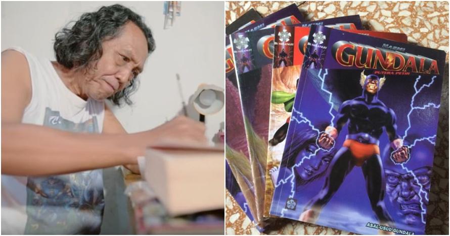 Mengenang Pak Hasmi, komikus legendaris, pencipta Gundala Putra Petir