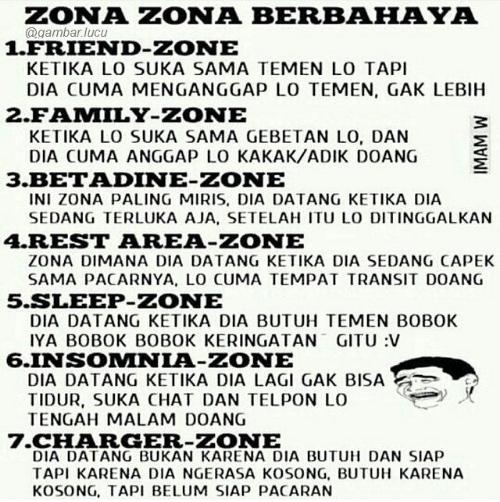 celoteh bijak quotes friend zone