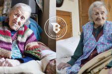 Usia nenek ini 117 tahun, rahasianya cuma makan 3 butir telur per hari