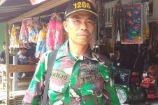 Bertugas di daerah perbatasan, prajurit TNI ini juga jadi guru SD