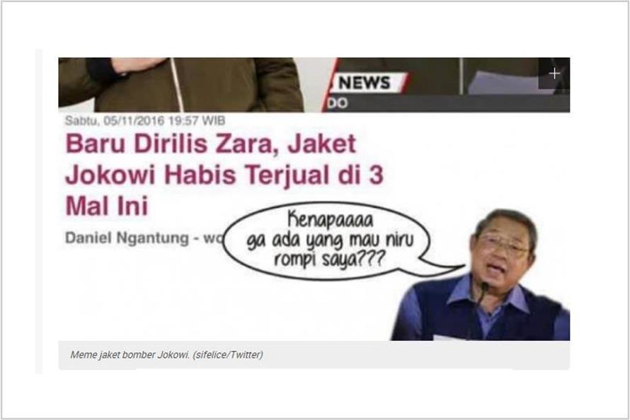 10 Meme kocak jaket bomber Jokowi ini bikin kamu ketawa cekikikan