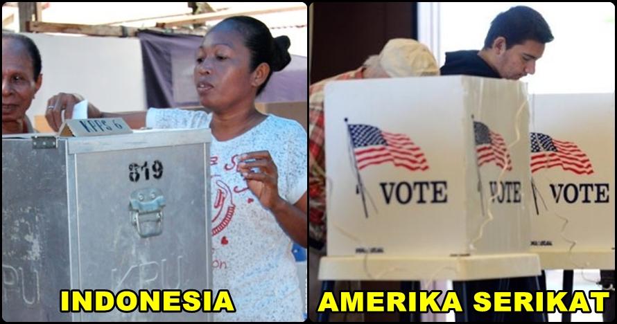 5 Perbedaan mencolok pemilu di Amerika Serikat dan Indonesia