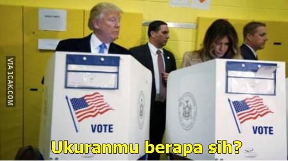 Meme presiden trump  © 2016 brilio.net