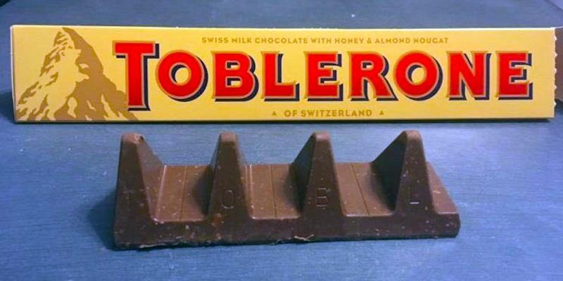 Toblerone © 2016 brilio.net