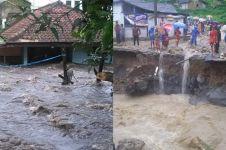 Ini foto-foto saat banjir bandang terjang Garut Selatan
