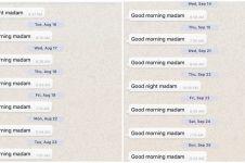 Tiga bulan kirim SMS setiap hari, balasan cewek ini malah bikin syok