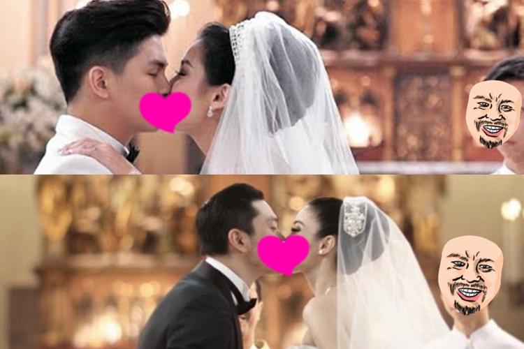 Ekspresi bocah di pernikahan artis kondang ini bikin gagal fokus