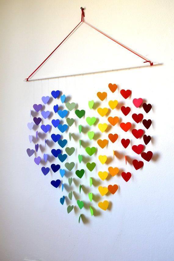 17 Inspirasi hiasan dinding ini bikin rumahmu makin ramai dan cer 3bb1d5cdea