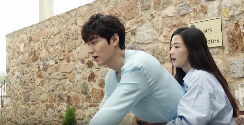 10 Foto BTS The Legend of the Blue Sea, K-Drama baru Lee Min-ho