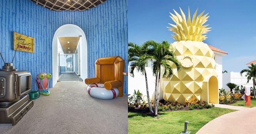 Begini penampakan rumah SpongeBob di dunia nyata, kamu pasti takjub