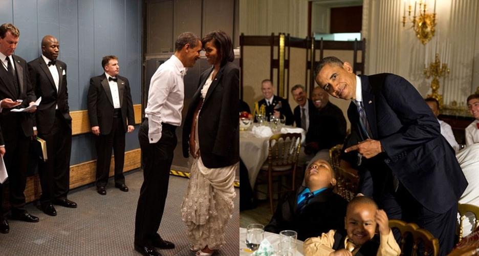 10 Foto kocak Barack Obama yang jadi favorit fotografer White House