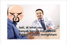 Percakapan lucu cowok dengan dokter ini bikin perutmu mules