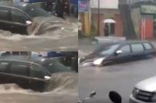 Ini kondisi Avanza yang terseret banjir di Bandung 9 November lalu