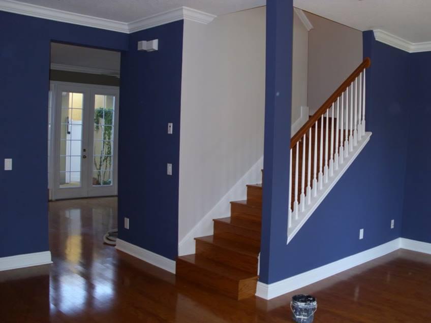 Tak melulu putih, 12 foto perpaduan warna dinding ini bisa ...