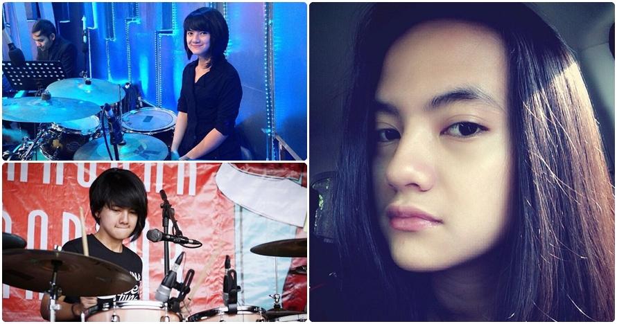 Jeane Phialsa, drummer manis yang bikin cowok 'pengen jadi simbalnya'