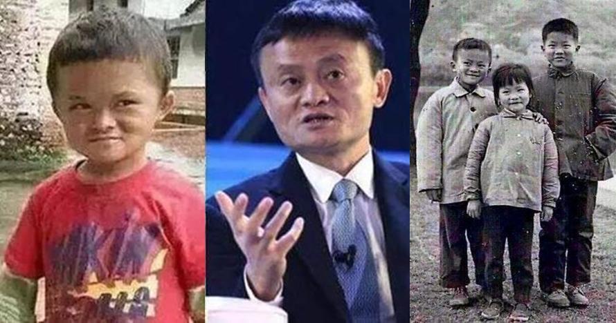 Berwajah mirip Jack Ma, bocah dari desa kumuh ini mendadak populer