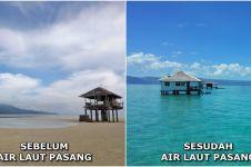 5 Tempat menakjubkan ini ternyata bisa 'hilang' saat air laut pasang