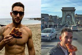 Pria ini keliling dunia hanya untuk berburu pizza, ada-ada saja