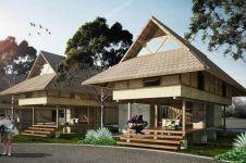 Konsep rumah pantai buatan anak bangsa di NTT ini bikin betah liburan