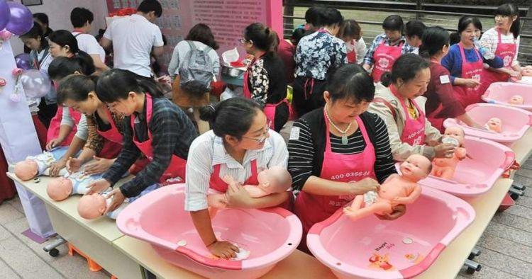 Tingkat kelahiran meningkat, gaji baby sitter di China bikin melongo