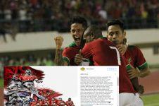 Gagal bela Timnas di Piala AFF, curhatan Irfan Bachdim ini bikin haru