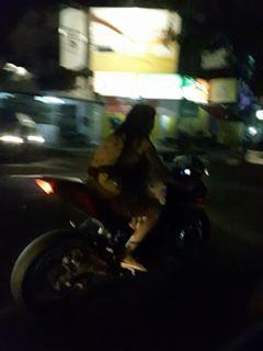ibu naik motor sport @roda2blog