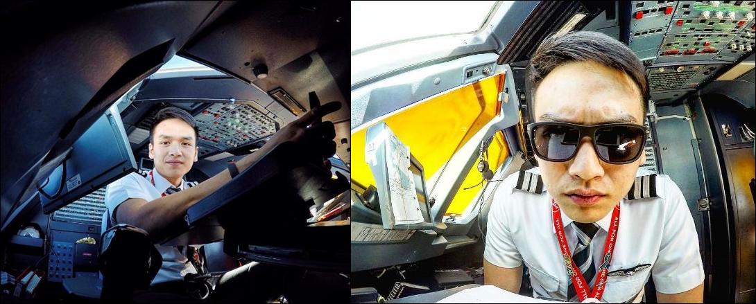 Nelson Simajaya, pilot  ganteng yang bikin kamu pengen diajak terbang