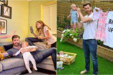 14 Foto keseruan ayah & keempat putrinya ini mendadak viral di medsos