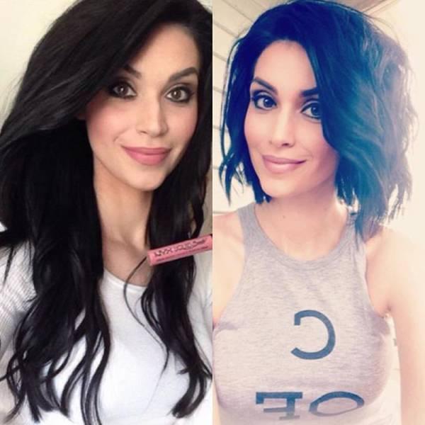 foto ini buktikan model rambut bisa tentukan kecantikan wanita © 2016 asiantown