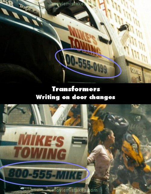 kesalahan dalam seri film Transformers yang tak pernah kamu sadari © 2016 movie mistakes