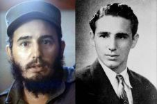 12 Transformasi Fidel Castro, masa muda ganteng & bikin cewek meleleh