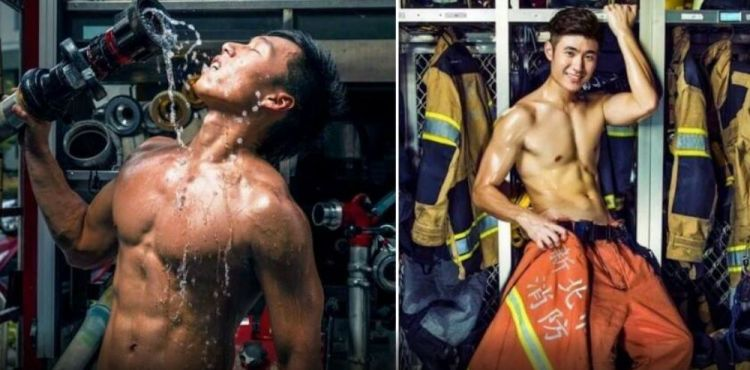 11 Foto ini buktikan pemadam kebakaran di Taiwan ganteng & keren abis!