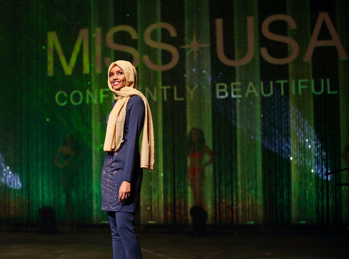 Berhijab, kontestan Miss Minnesota AS ini pilih pakai burkini