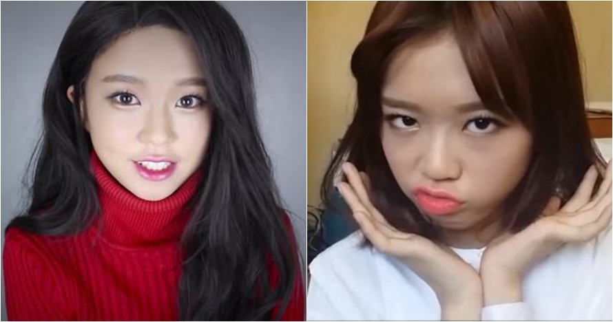 Skill makeup gadis 18 tahun tirukan wajah seleb K-Pop ini bikin kagum