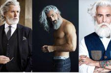 10 Pria tua ini malah semakin 'hot' ketika usianya sudah setengah abad