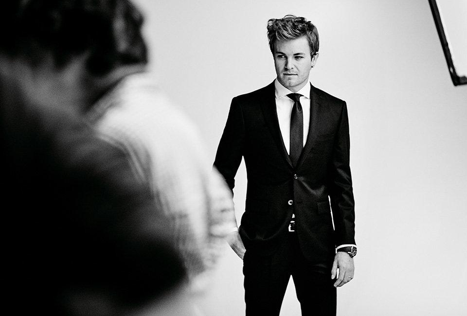 Ketampanan Nico Rosberg © 2016 istimewa