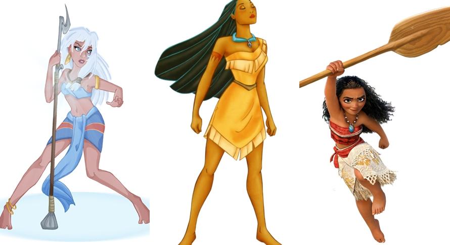 Penampilannya biasa aja, nggak disadari 7 tokoh ini Princess Disney