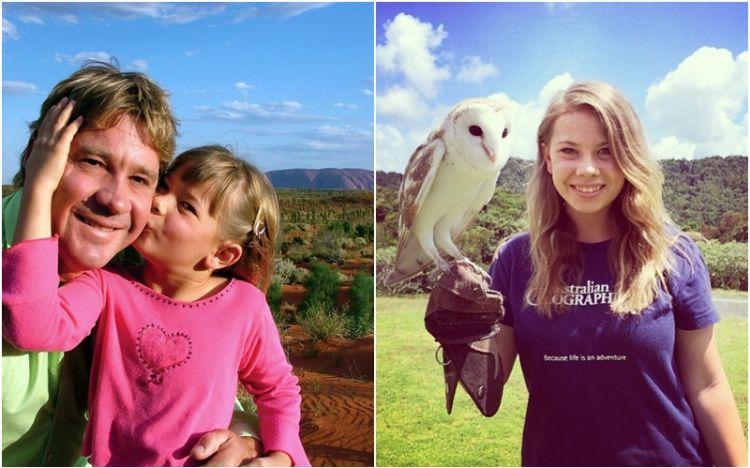 Kenalan yuk sama anak gadis Steve Irwin, pecinta satwa juga nggak ya?