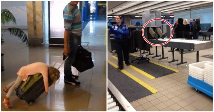 15 Momen paling lucu di bandara yang bikin kamu ngakak