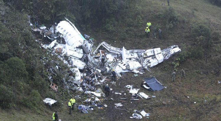 13 Potret evakuasi pesawat jatuh yang bawa tim sepak bola Chapecoense