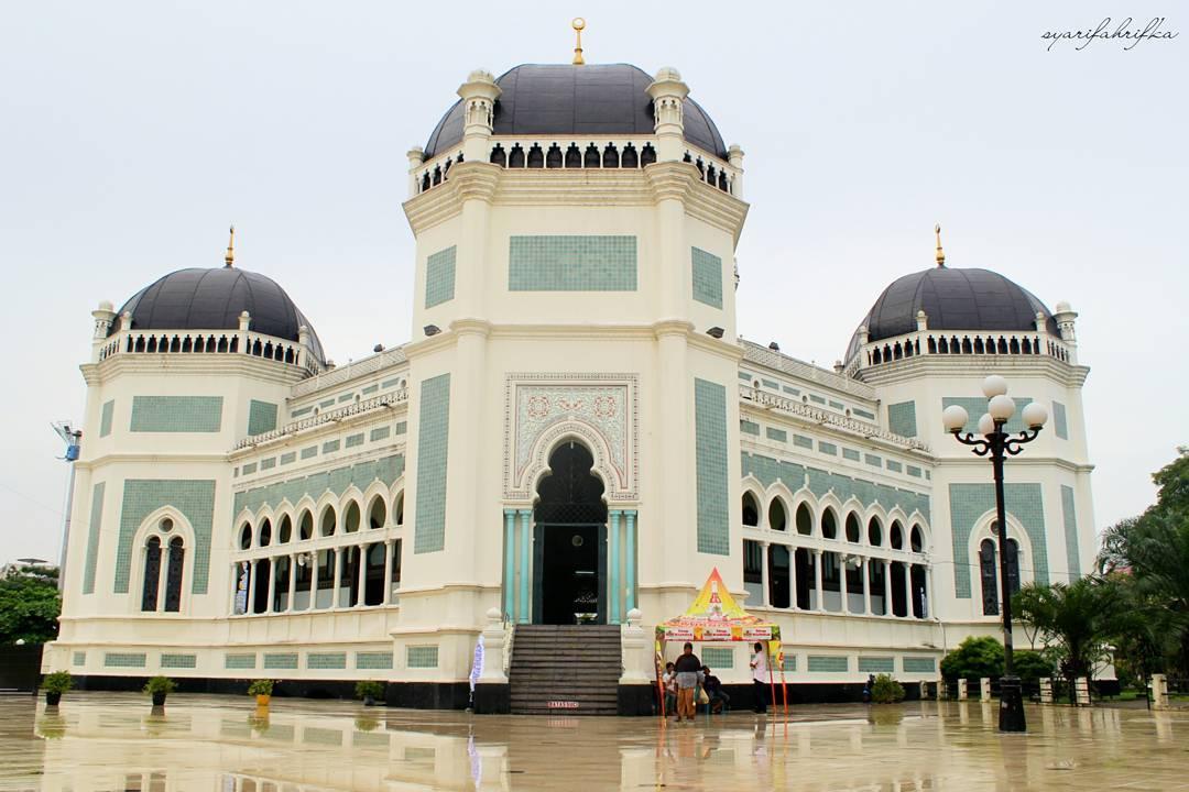4 Masjid tua di Kota Medan ini tak hanya megah, tapi juga bersejarah