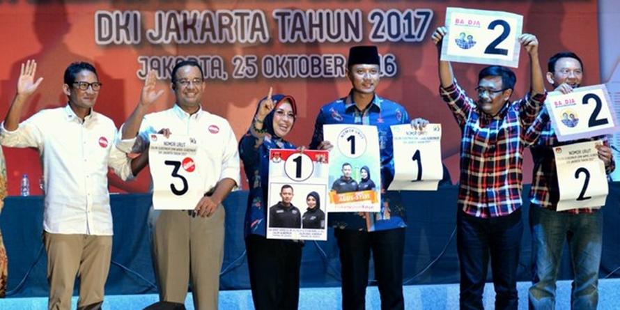 Gaya kampanye seru ala calon gubernur Jakarta, Anies, Ahok dan Agus