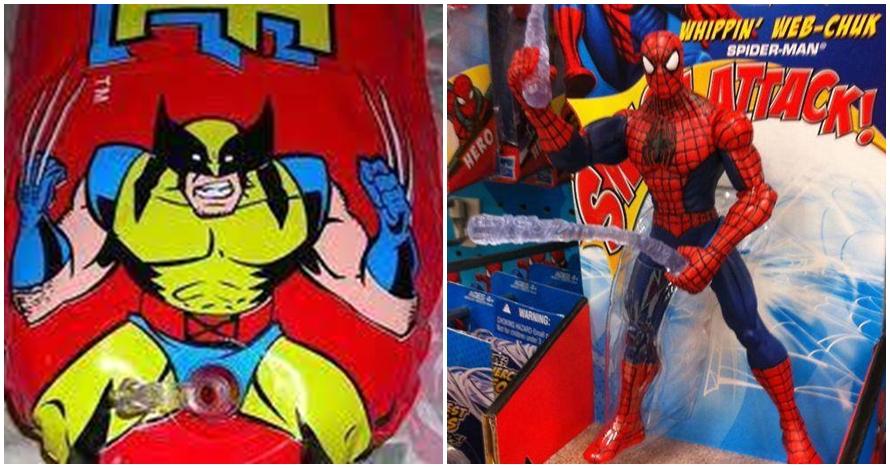10 Mainan berbentuk superhero ini malah bikin gagal paham